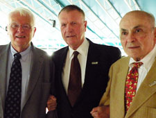 Dr. Walter Reiling, Dr. Daniel Ullyot, and Dr. Sylvan Lee Weinberg