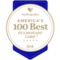 2018 HG 100 Best Pulmonary Care