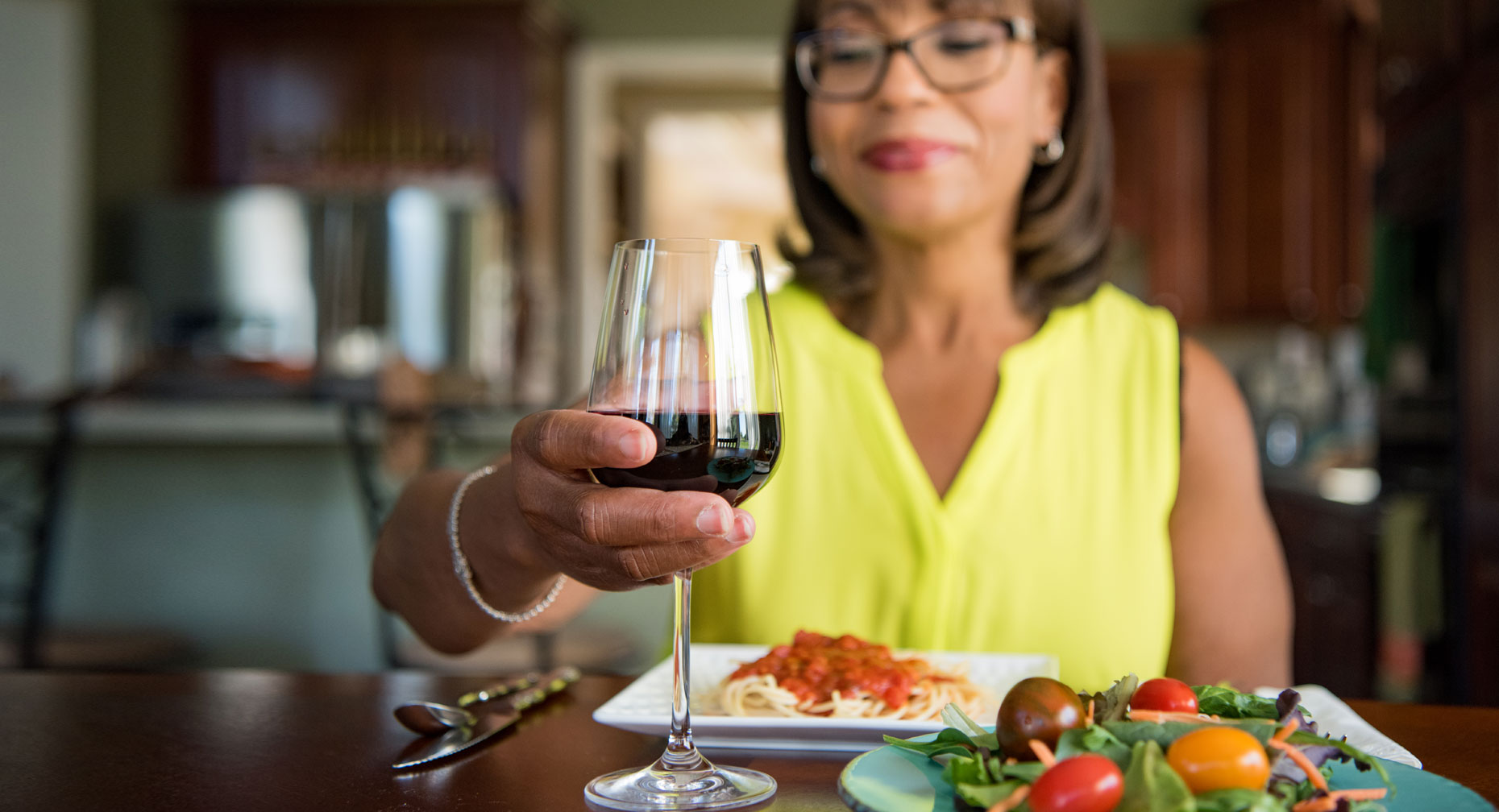 A Glass Of Wine Can Lead To A Stroke
