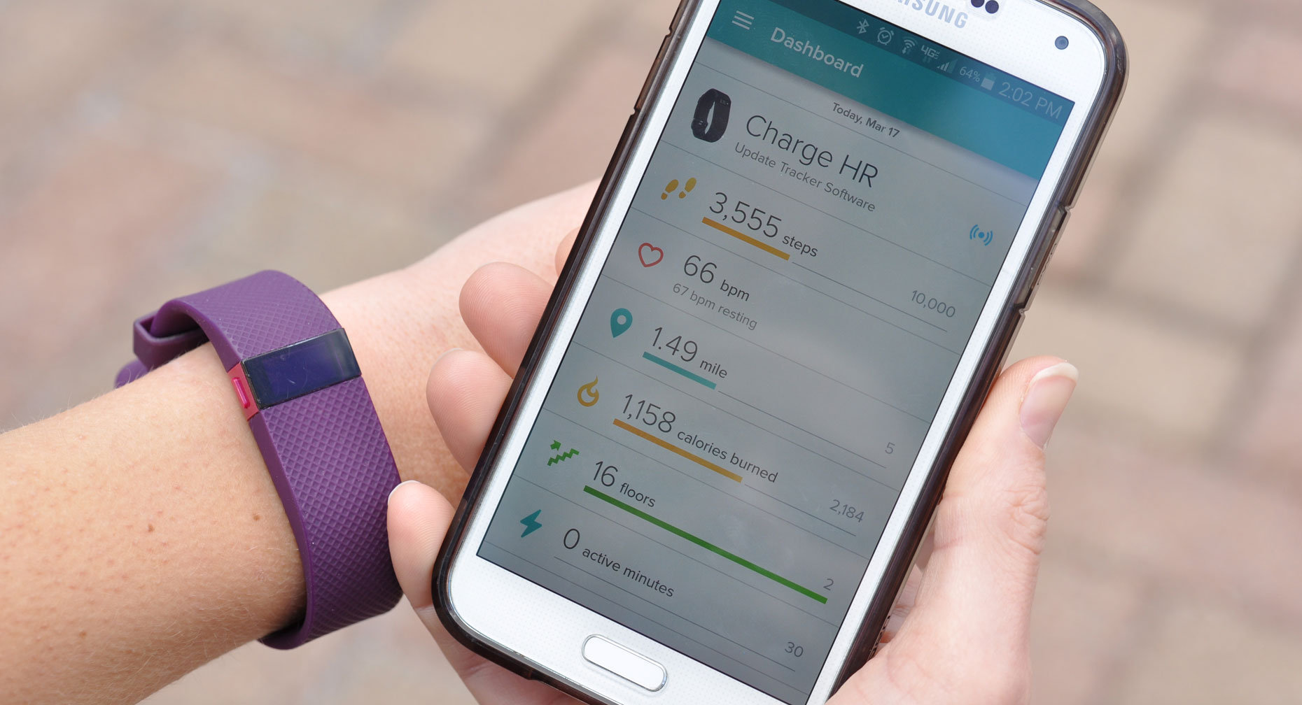 Fitness Trackers Help You Stay on Target - Large