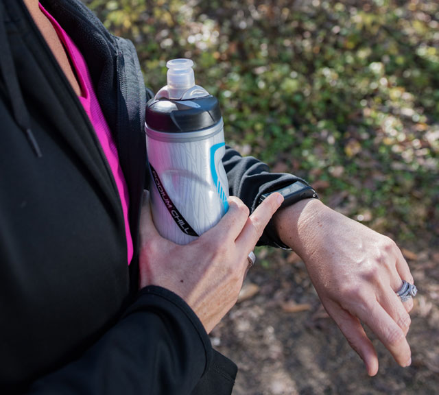 Fitness Trackers Help You Stay on Target - Small