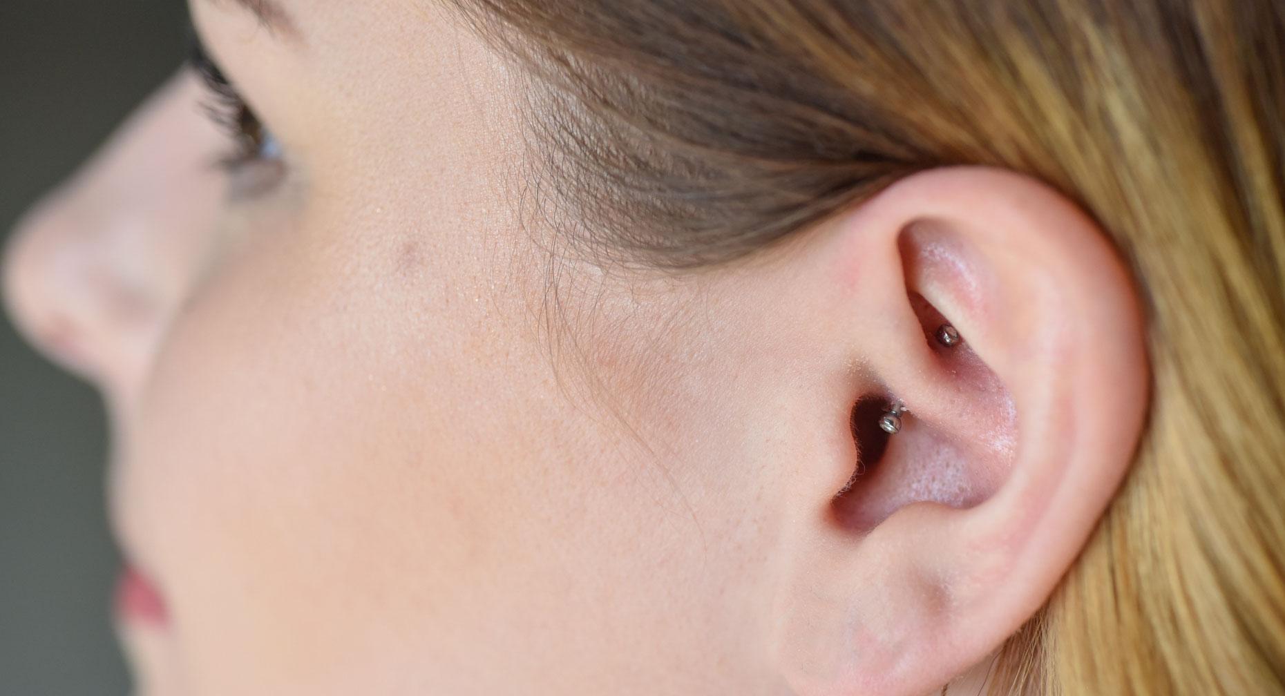 Can Daith Piercing Stop Your Migraine Pain Premier Health