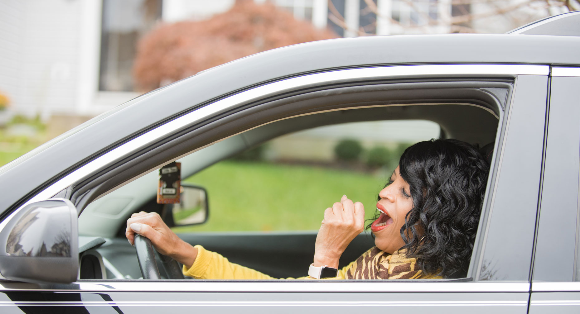 Dangers of Drowsy Driving large